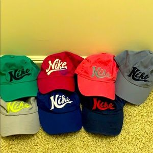 Bundle of 7 Nike Hats